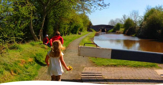 Canal holidays are brilliant for families, so many adventures
