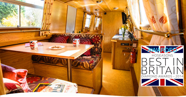 Boats for your comfort, this is not camping or caravaning