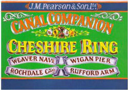 Pearson Canal Companion - Cheshire Ring