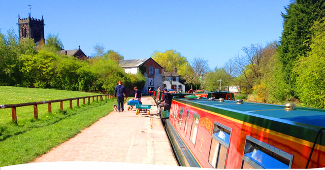 We have lots of choice within our fleet of canal boats